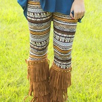 All Eyes On You Patterned Leggings