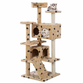 Tree Tower Condo Furniture Scratch Cat House