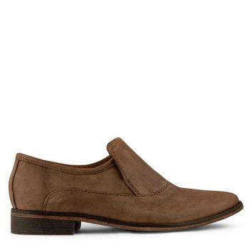 DCCKH2N Free People Brady Slip-On Loafer Women's - Brown
