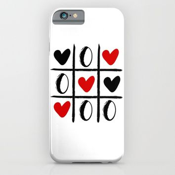 XO LOVE HEART SPECIAL - Valentines Day iPhone & iPod Case by deificus Art