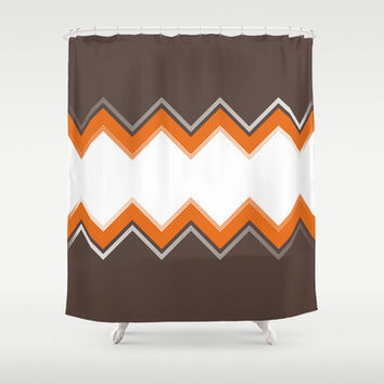 Tangerine Date Shower Curtain by Katayoon Photography & Designs