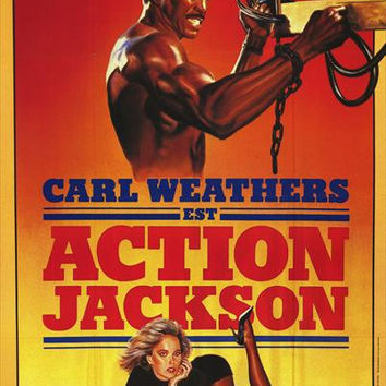 Action Jackson (French) 11x17 Movie Poster (1988)