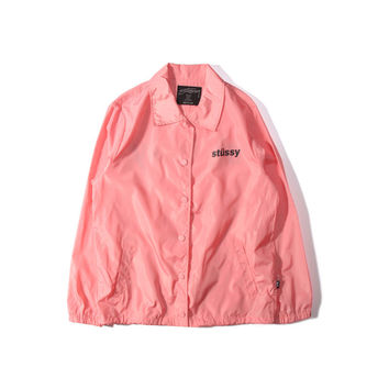 Windbreaker Pink Men Jacket [9436859335]