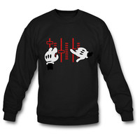 dj mickey hands sweatshirt