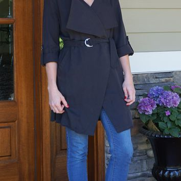 Belted Duster Trench