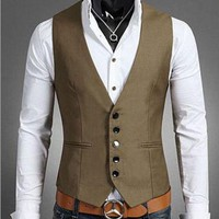 Plus Size Mens Dress Vests For Man Suit Sleeveless Male For Vest Waistcoat Designs Wedding Dresses Blazer Coat Vest