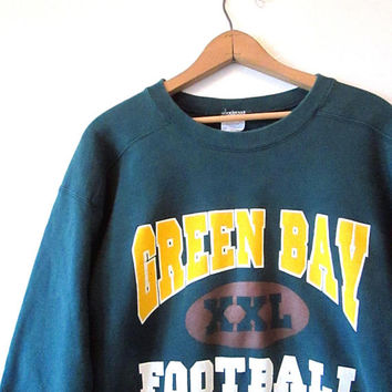 Vintage 1990s GREEN BAY PACKERS Nfl Football Nothing Else Matters Sweatshirt Sz M