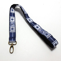 Dallas Cowboys Football Sports Lanyard