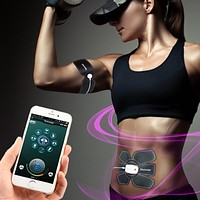 Smart Abs & muscle toner / Stimulator with Smart App Remote Control