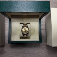 Rolex Datejust CHAMPAGNE 36mm Steel and Yellow Gold 116233 chro