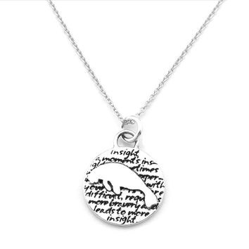 Manatee Necklace (Insight)-D113SM