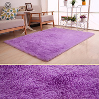 Large SizeModern Fluffy Round Silky Soft Rug Non Slip Shower Bedroom Mat Door Floor Carpet Living Room Yoga Mat Color Optional