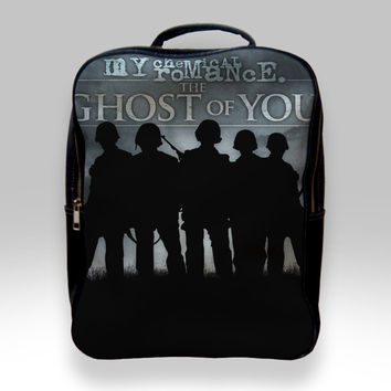 Backpack for Student - My Chemical Romance The Ghost of You Bags