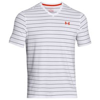 Under Armour Charged Cotton Pinstripe V-Neck T - Men's