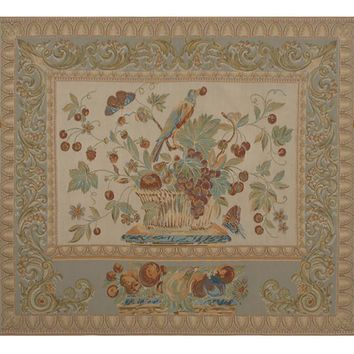 The Jay in Beige European Tapestry