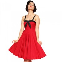 Steady Clothing Sara Dress | Pin Up Rockabilly