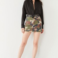 UO Camo Mini Skirt | Urban Outfitters
