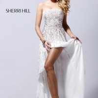 Sherri Hill Prom Dresses and Sherri Hill Dresses 8300 at Peaches Boutique