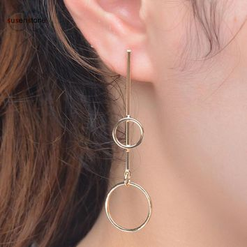 SUSENSTONE Women Retro Fashion Earrings