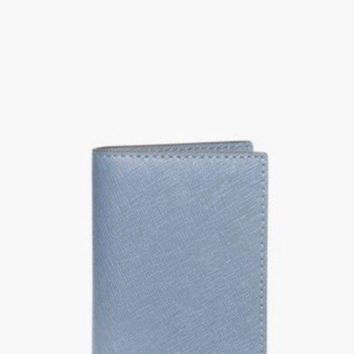 NWT) MICHAEL KORS PHONE CHARGING BATTERY WALLET / PALE BLUE