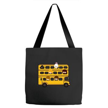 Harry Potter Schoolbus Tote Bags