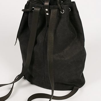 Free People Joni Leather Backpack