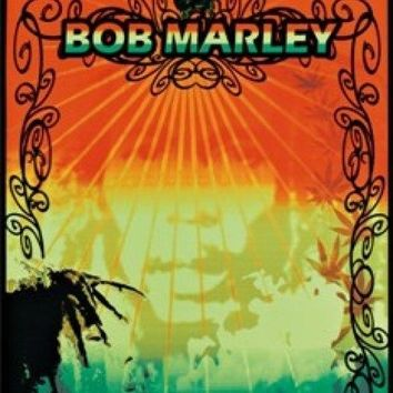 Black Light - Bob Marley - Colors Laminated Poster (23 X 35)