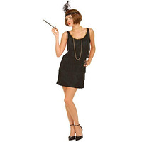 Forum Novelties Womens Roaring 20's Flapper Halloween Party Dress Costume