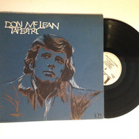 OCTOBER SALE Don McLean Tapestry LP Album 1971 Castles In The Air Rock n Roll Vinyl Record
