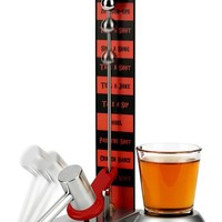 Barbuzzo Hammer Shot Drinking Game - Metallic