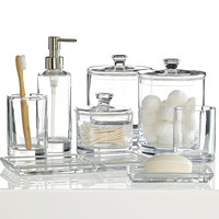 Hotel Collection Glass Bath Accessories Collection, Only at Macy's
