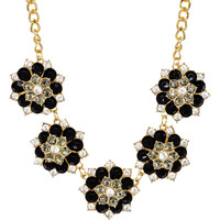 Leandra Necklace Set in Black