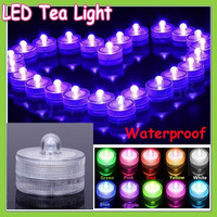 12pcs Romantic Waterproof Submersible LED Tea Light Electronic Candle Light for Wedding Party Christmas Valentine Decoration = 1932298500
