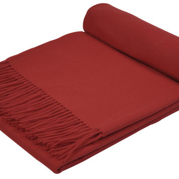 GOBI Mongolian Cashmere Home Throw 79 x 57 inches