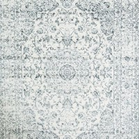 1232 Silver Distressed Oriental Area Rugs