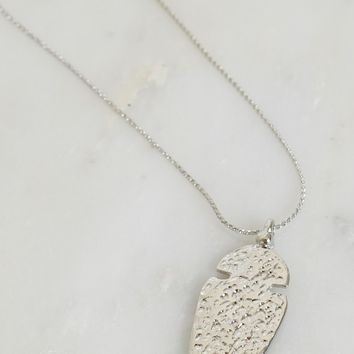 Arrow There Necklace Silver