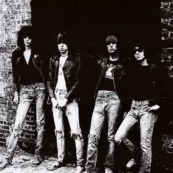 The Ramones Rocket to Russia Album Cover Poster 24x36