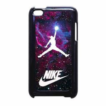 DCKL9 Michael Jordan Nike Galaxy Blue iPod Touch 4th Generation Case