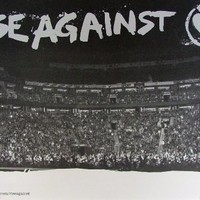 Rise Against - The Sufferer & The Witness - Poster - Rare - New - 88 Fingers Louie - Joe Principe - Tim McIlrath - Chris Chasse - Brandon Barnes - Ready to Fall - Prayer of the Refugee - The Good Left Undone