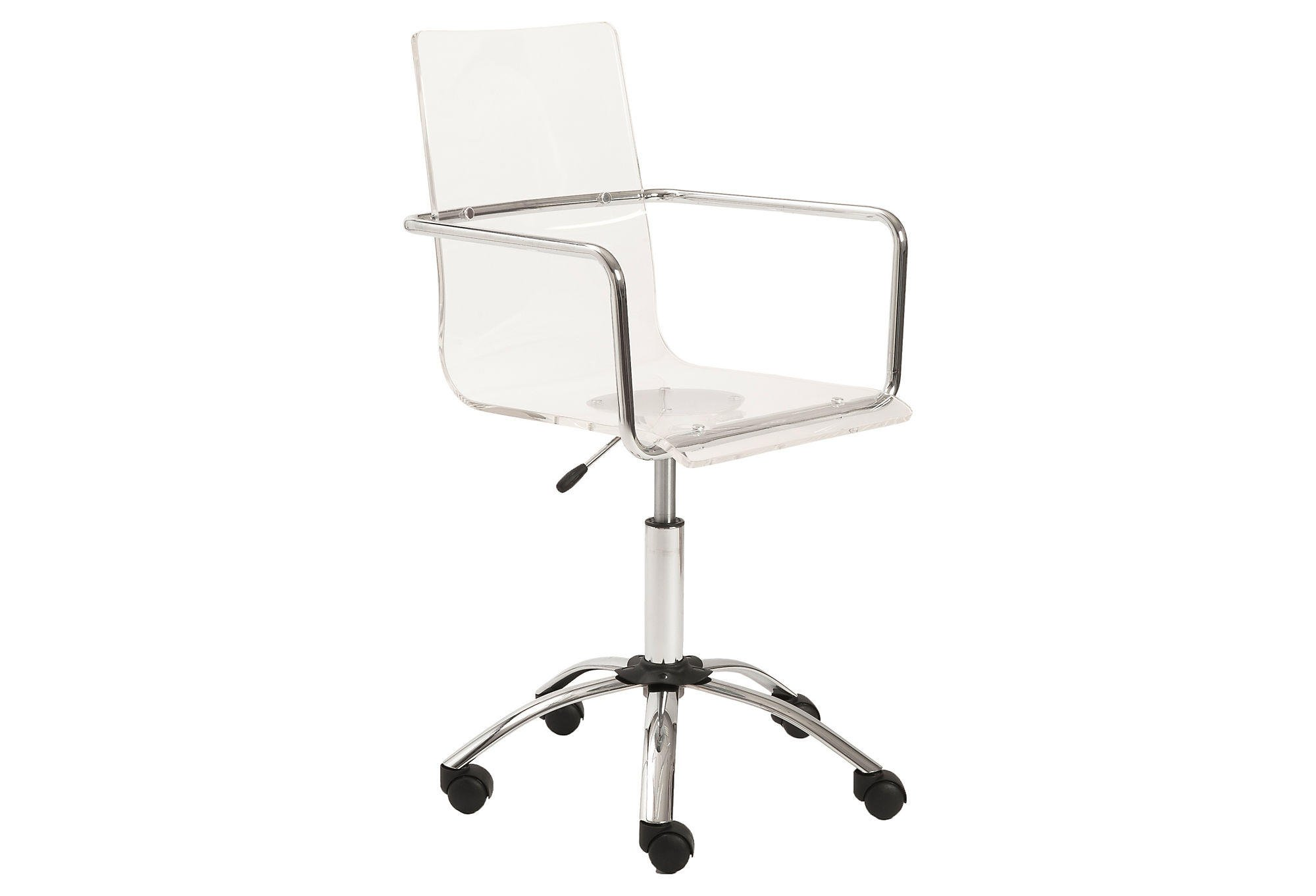 Chloe fice Chair Acrylic Lucite from e Kings Lane
