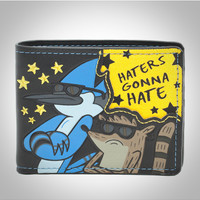 The Regular Show 'Haters' Bifold Wallet