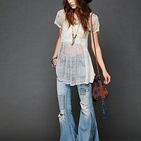 Free People  Pieced Floral Print Tunic at Free People Clothing Boutique