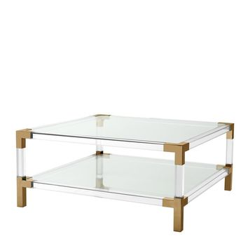 Clear Glass Coffee Table | Eichholtz Royalton