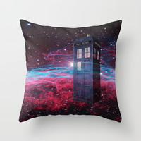 Dr Who police box  Throw Pillow by Store2u