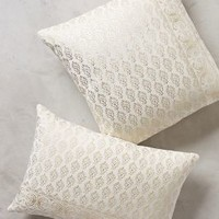 Arbor Floret Pillow by Anthropologie