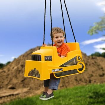 Caterpillar Dozer Toddler Swing - Swings at Hayneedle