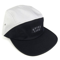 Quiet Life: Split 5 Panel - Black / Grey