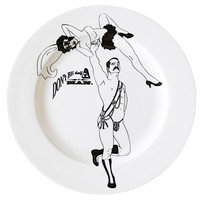 Handmade Wallpaper, Homewares, Cushions, Kitchen & Interior Design by Dupenny - Strongman Dinner Plates