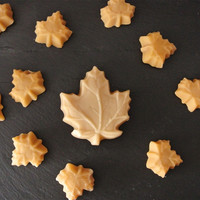 Small Maple Leaf Candies