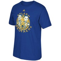 Men's Golden State Warriors adidas Royal Splash Brothers T-Shirt